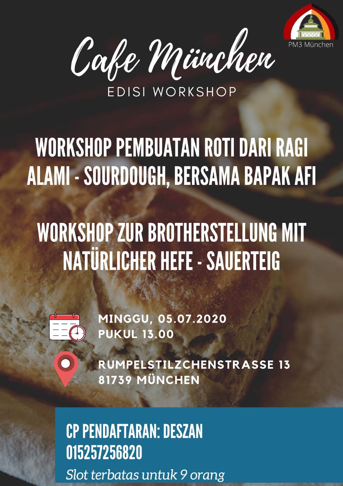PM3 Kepemudaan Workshop Baking Cake